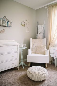 Vintage nursery: http://www.stylemepretty.com/living/2016/11/09/tour-the-sweetest-vintage-nursery/ Photography: Corrina Walker - http://www.calgary-wedding-photographer.com/