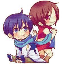 Meiko and Kaito