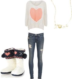 """Lazy outfit"" by frech4 on Polyvore"