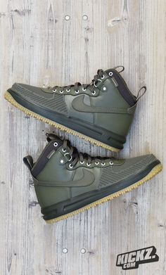 Boots never looked so fresh - Nike Lunar Force