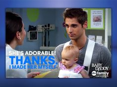 Baby Daddy Funny Quote