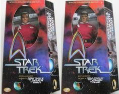 Star Trek II: The Wrath of Khan 12″ KIRK & SPOCK Action Figure Set – LIMITED EDITION!