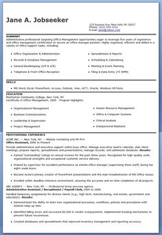 Office assistant cover letter example pinterest cover letter office assistant resume sample thecheapjerseys Choice Image