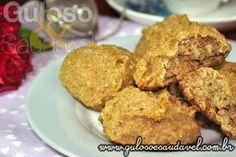 Dica de #lanche saudável, fácil e muito leve. Estes deliciosos Cookies de Banana com Aveia são práticos, econômicos e tentadores.  #Receita aqui: http://www.gulosoesaudavel.com.br/2012/10/02/cookie-banana-avei/
