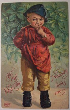 Vintage Valentines Day , February 14th