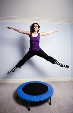 Rebounding for Lymph Health! by Hippocrates Health Institute