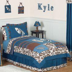 Sweet Jojo Designs Tropical Hawaiian Surf 3-piece Comforter Set | Overstock.com Shopping - Great Deals on Sweet Jojo Designs Kids' Bedding