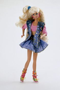 1991 All-American Barbie.... i still have her Reeboks lol