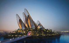 BELL-HOUSE-MUSEO-ZAYED-de-NORMAN-FOSTER-nocturna