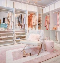 Glam Closet, Ikea Closet, Luxury Closet, Closet Bedroom, Bedroom Decor, Master Bedroom, Walk In Closet Design, Closet Designs, Grand Dressing