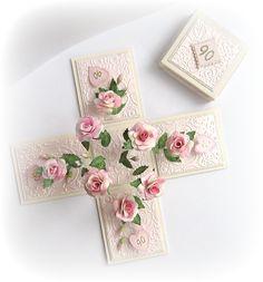 Quilled rose magic box