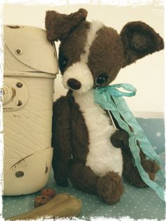 PDF Instant Download Pattern / E-Book Chihuahua CHICO :) - 10 Inch - by Eileen Seifert - Teddy-Manufaktur.de