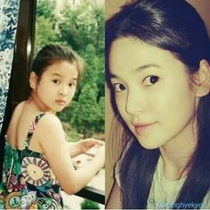 Song Hye Kyo as a child