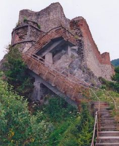 Poenari castle, the real place of Vlad the Impaler. One of the most haunted places in the world.