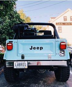 baby blue jeep goes beep beep beep Auto Jeep, Cj Jeep, Jeep Cars, Old Jeep Wrangler, Jeep Rubicon, Jeep Wranglers, Jeep Truck, Bmw Cars, Chevy Trucks