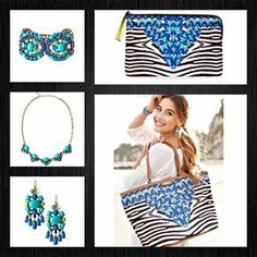 Love the new march capsule collection from stella and dot.