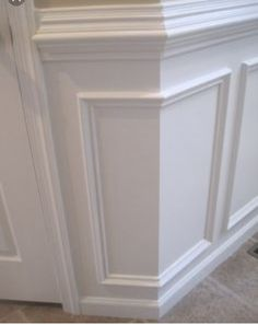 Great clean look for wainscoting.