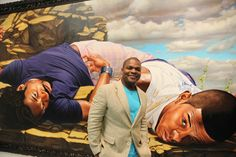 Kehinde Wiley Photo Credit: Arrested Motion
