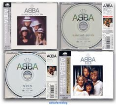 """This picture shows two CD singles which were released in Japan to promote the compilation album """"S.O.S. The Best Of Abba""""...   #Abba #Agnetha #Frida #Japan http://abbafansblog.blogspot.co.uk/2017/02/abba-cd-singles.html"""