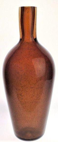 Lubomir Blecha, glass vase from serie Vulcanica, 1963, Pattern No: 6317, M: 41,0 cm, glassworks Skrdlovice, Czechoslovakia Artist At Work, Czech Glass, Glass Vase, Pattern, Home Decor, Decoration Home, Room Decor, Patterns, Model