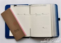 Kalender Taschenbegleiter RoterFaden - New Ideas Filofax, Roterfaden, Day Planners, Leather Journal, Notebooks, Journals, Planer, Stationery, Edc