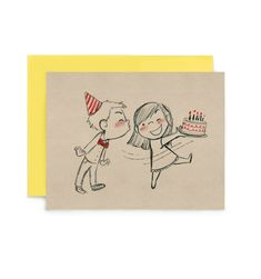 Cards are size x and printed locally in California on recycled natural white cover. All cards come with a matching envelope. Drawings For Him, Cute Drawings Of Love, Drawings For Boyfriend, Cute Couple Drawings, Cute Couple Cartoon, Cute Couple Art, Cute Love Cartoons, Cool Art Drawings, Art Drawings Sketches