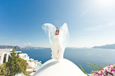 Destination - Andrey & Mariya Santorini wedding
