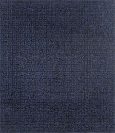 CHUNG Sang-hwa Untitled 83-12-B 1983 Pencil, acrylic on canvas 79x68.5cm