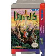Crystalis - Empty NES Box