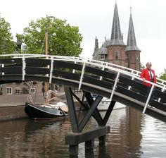 Waterpoort, Sneek, Friesland, Netherlands.