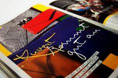 Print sample of Mister K typeface in Grazia magazine.