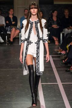 Givenchy Spring 2015. BAZAAR is selecting the best looks from Paris Fashion  Week here. a7376f936