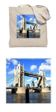 London\u0026#39;s Tower Bridge Tote Bag