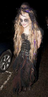 Chloe Moretz sighting on October 31, 2012 in London, England. (Photo by Niki Nikolova/FilmMagic)