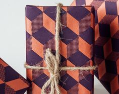 Norman's Printery - amazing patterned wrapping paper. For table top?