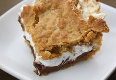 S'mores Bars -  WOW!!