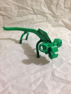 Upcycled lizard from old pliers