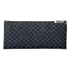 #black - #SCA1 BK-MRBL BL-STONE PENCIL CASE