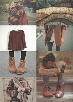 """Find and save images from the """"herfstoutfits"""" collection by Mindy (ivesetmyMINDonYou) on We Heart It, your everyday app to get lost in what you love. Fashion Moda, Look Fashion, Womens Fashion, Fashion Shoes, Inspiration Mode, Autumn Inspiration, Fashion Inspiration, Color Inspiration, Outfits Otoño"""