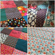 MES patchwork blankets and the TUTO that goes with . - In the land of bubbles- Source by echarmes - Plaid Patchwork, Patchwork Blanket, Patchwork Dress, Coin Couture, Patch Quilt, Applique, Bubbles, Patches, Quilts