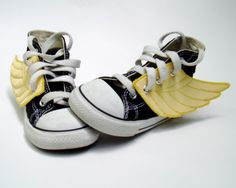 Superhero shoes - I think every mom needs a pair of these wings!  Love em