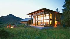 Cabin near Twisp, Washington