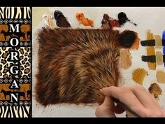 ▶ Glazing Painting Video - How to Paint Fur / Hair Tutorial - Jason Morgan - YouTube