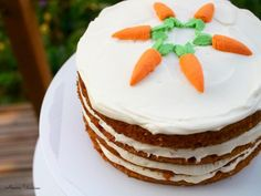 kakkupohjia Delicious Cake Recipes, Yummy Cakes, No Bake Cookies, No Bake Cake, Cake Fillings, Easy Baking Recipes, Frosting Recipes, Something Sweet, Carrot Cake