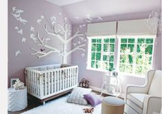 Pretty #purple nursery