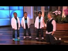 VIBIN'  3 Amazing Kid Hip Hop Dancers on Ellen DeGeneres Show (10_04_2010)