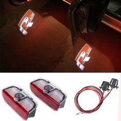 Rline Laser LED Car Door Logo Projector Light For VW Golf 5 6 7 Jetta MK5 MK6 MK7 CC Tiguan Passat B6 B7 Scirocco Touareg Sharan