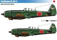 Tachikawa Ki-94-II Navy Aircraft, Aircraft Photos, Ww2 Aircraft, Fighter Aircraft, Military Aircraft, Fighter Jets, Ww2 Planes, Aircraft Design, Military Equipment