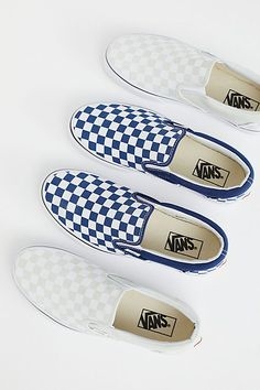 Slide View 1: Classic Checkered Slip On