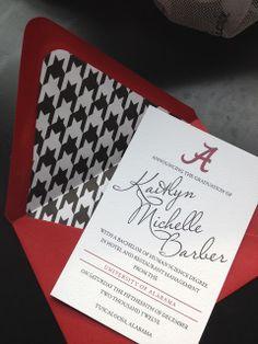 Bellefonte Press: Alabama Graduation Announcements
